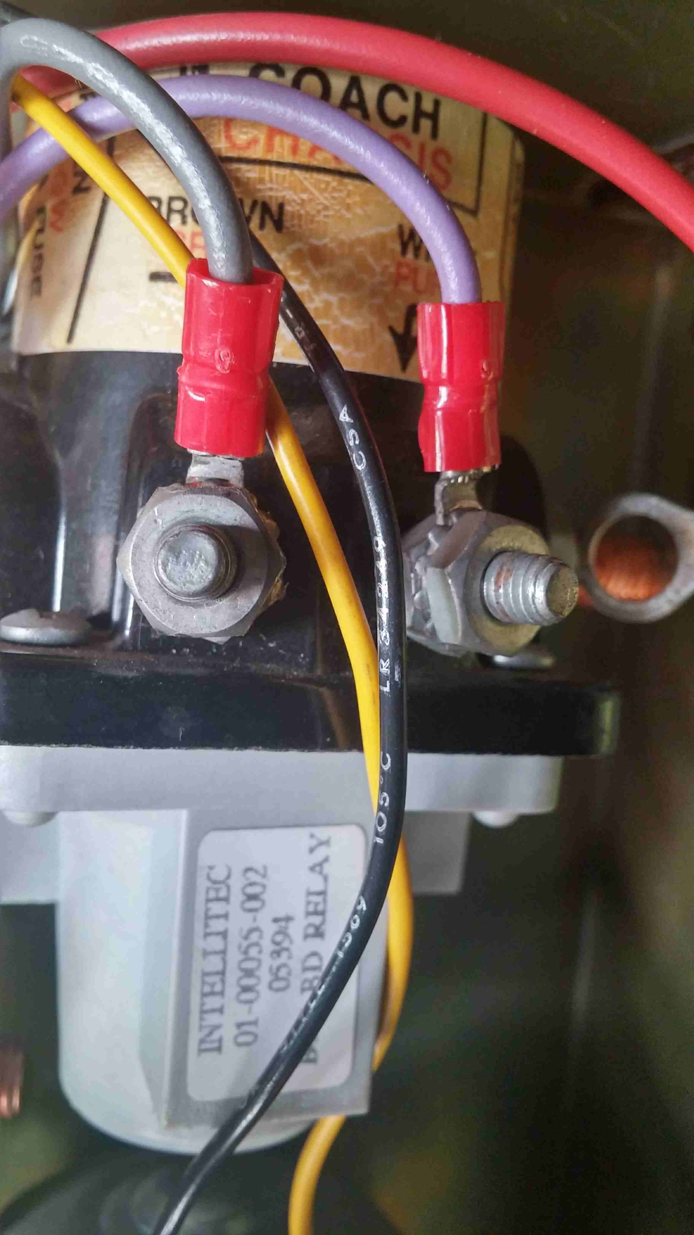 Battery Disconnect Relay - RV Repairs